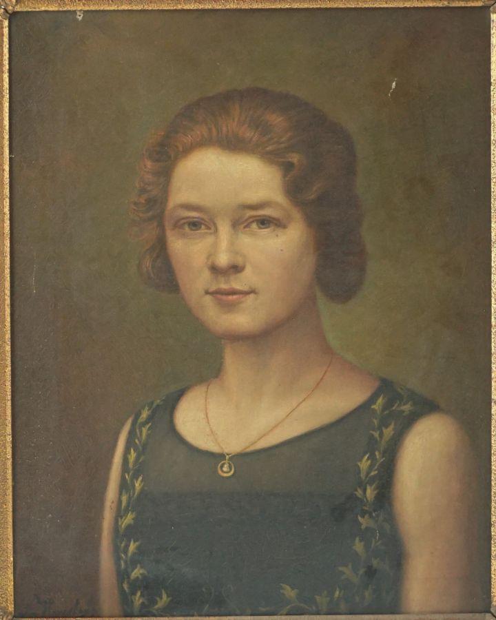 Retrato de Antoinette Louise Verstuyll