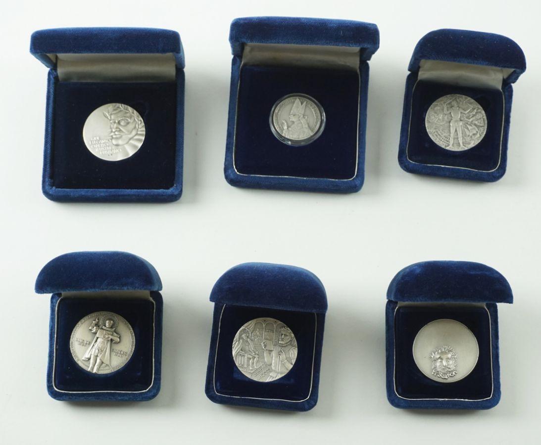 6 Medalhas Philae