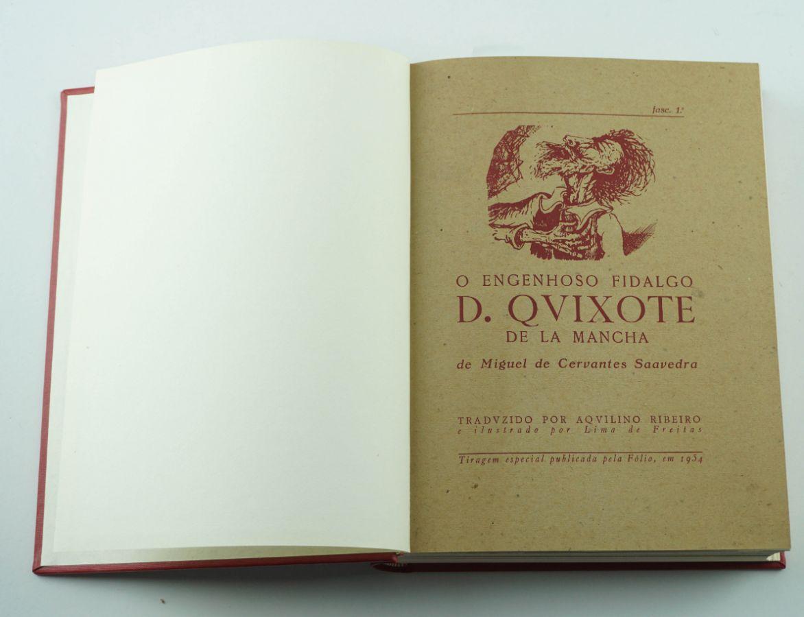 D. Quixote – Aquilino e Lima de Freitas - Tiragem Especial