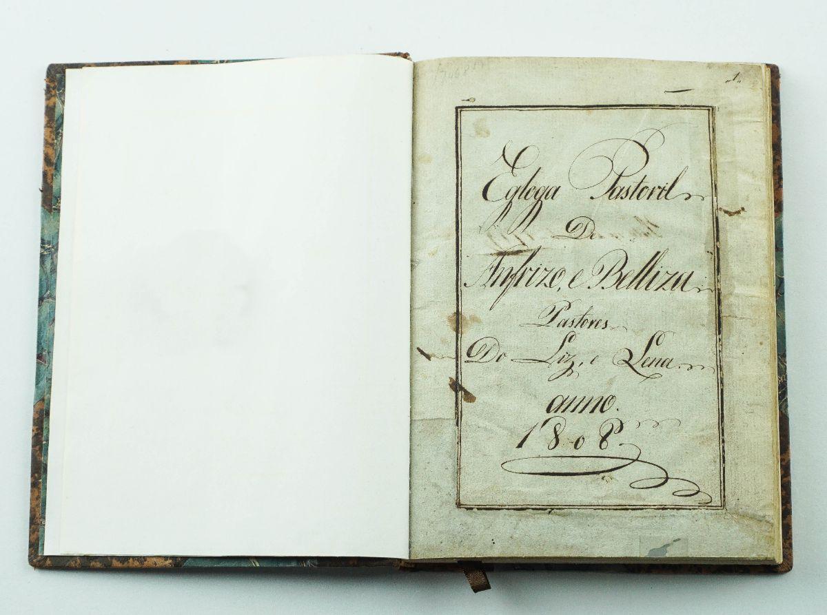 Manuscrito – Poesia (1808)