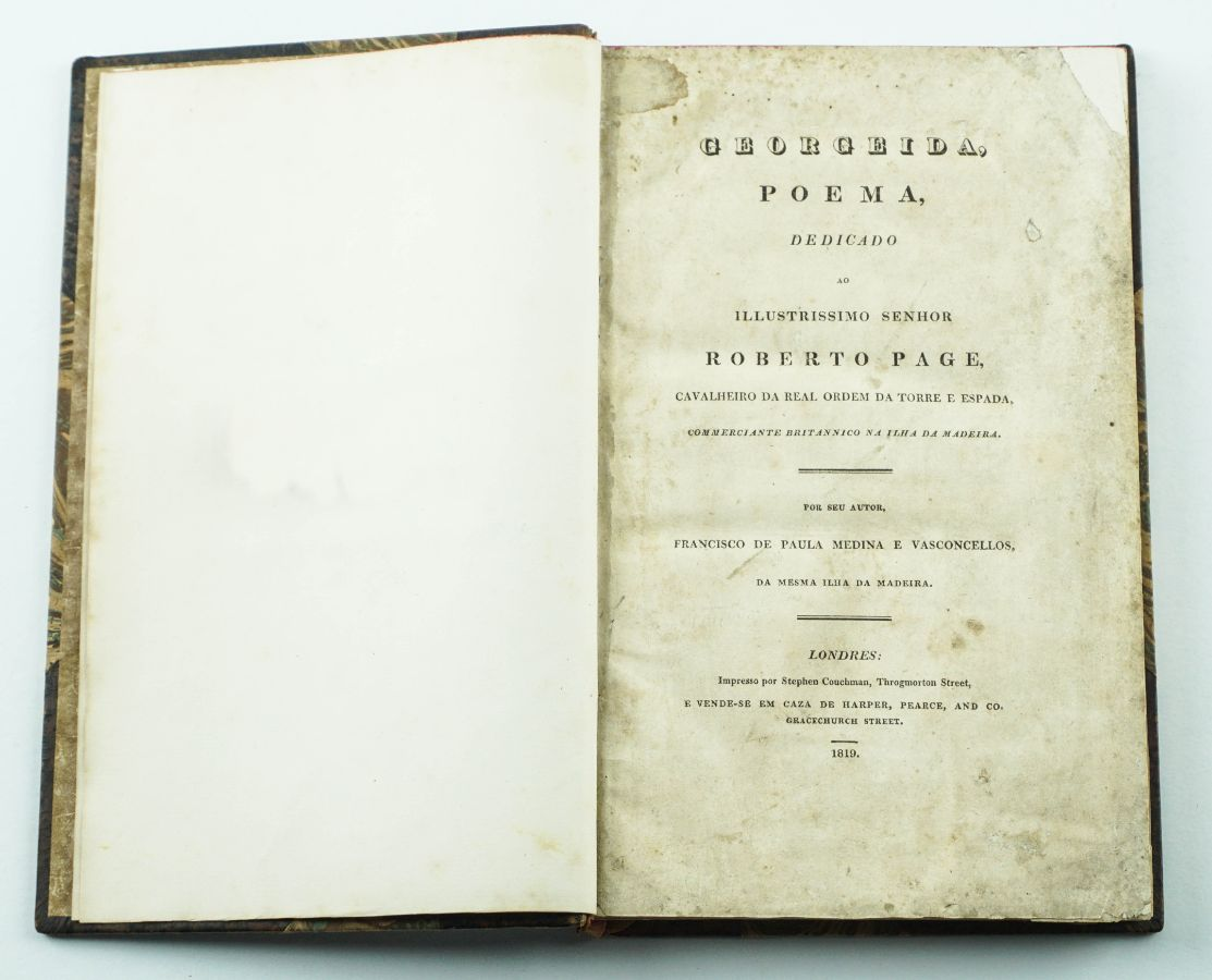 Medina e Vasconcellos – Georgeida (1819)