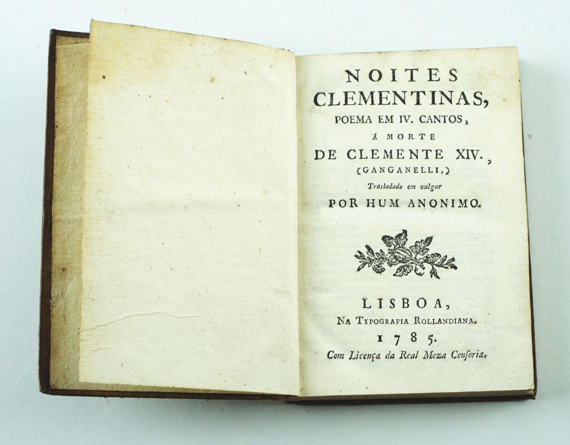 Noites Clementinas – Poema 1785