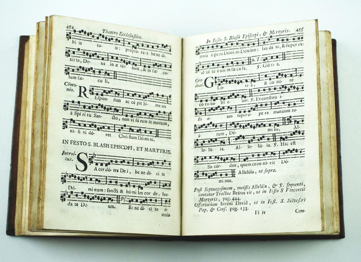 Theatro Ecclesiastico (Canto – Chão) - 1782