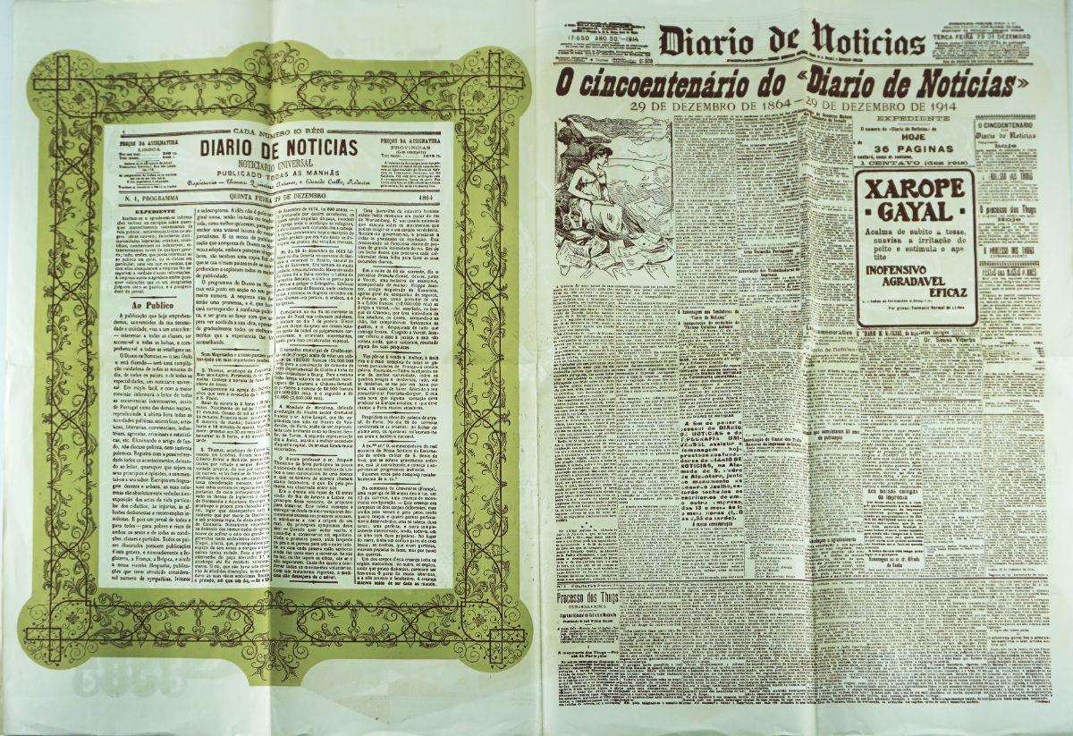 Diario de Noticias – 100 Anos de Informação e Formação