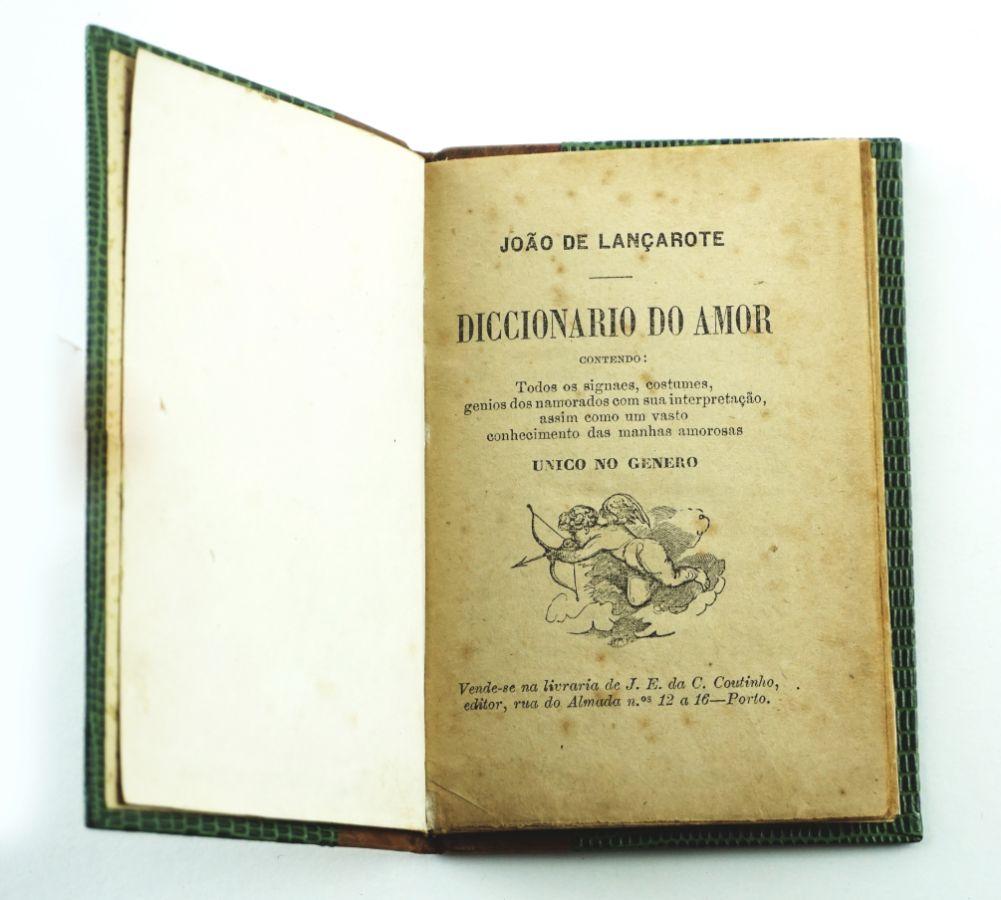 Diccionário do Amor – Biblioteca Amorosa – sec XIX