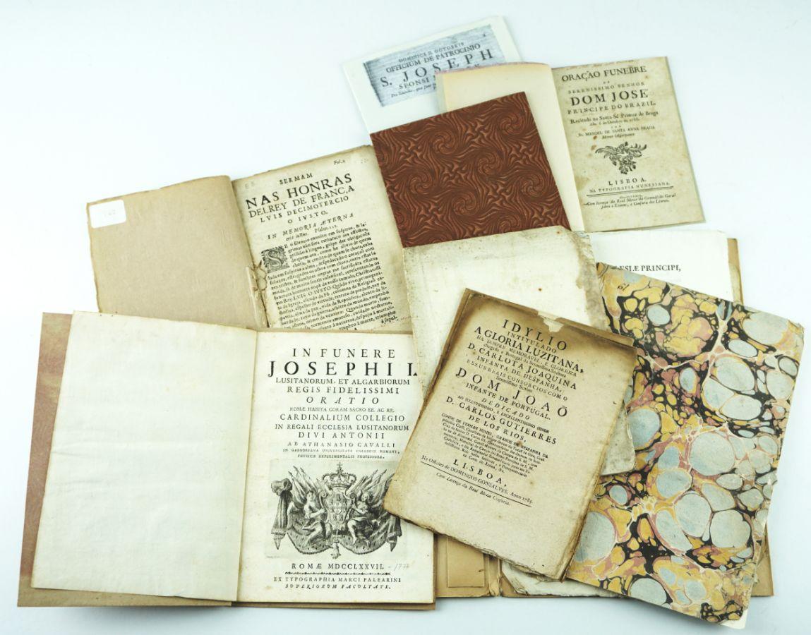 Conjunto de Publicações Portuguesas do Sec. XVII e XVIII