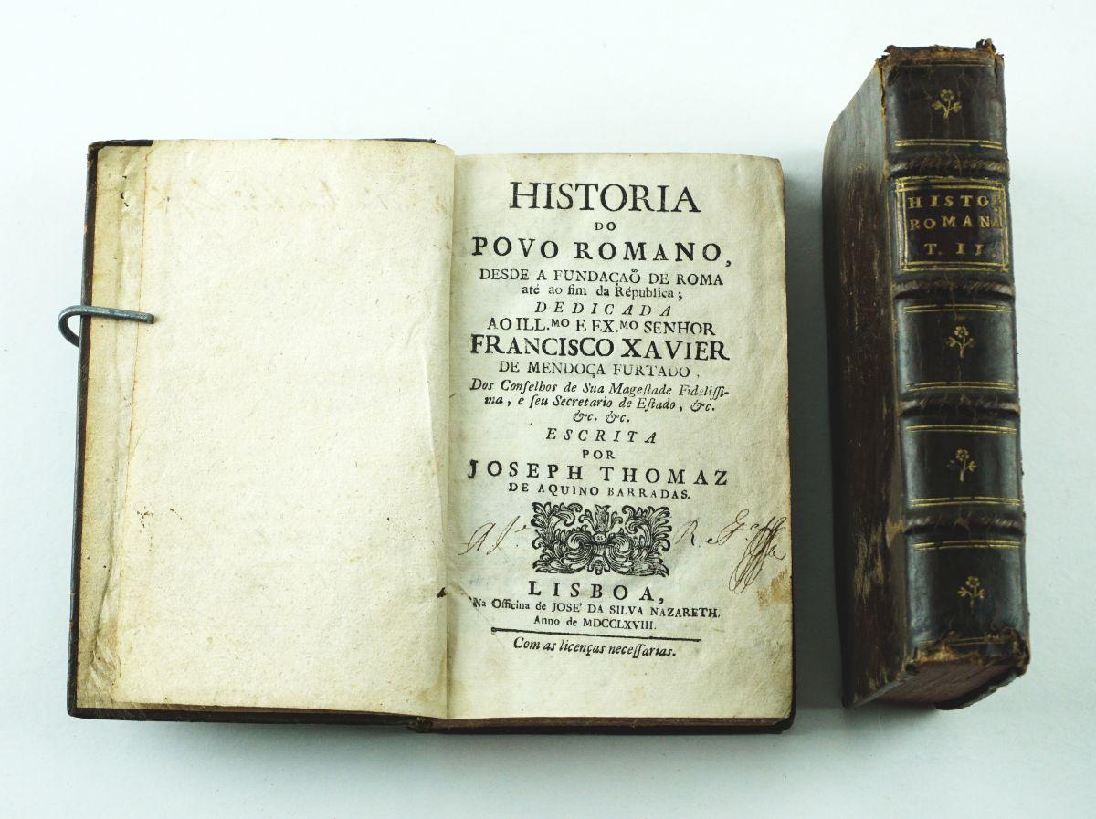 História do Povo Romano – 1768