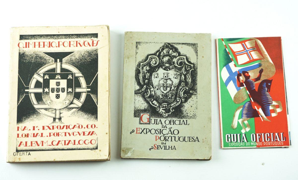 Colecção guias – álbuns de exposições do Império Português