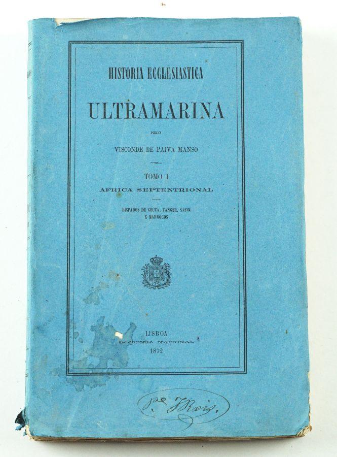 História Ecclesiastica Ultramarina -1872