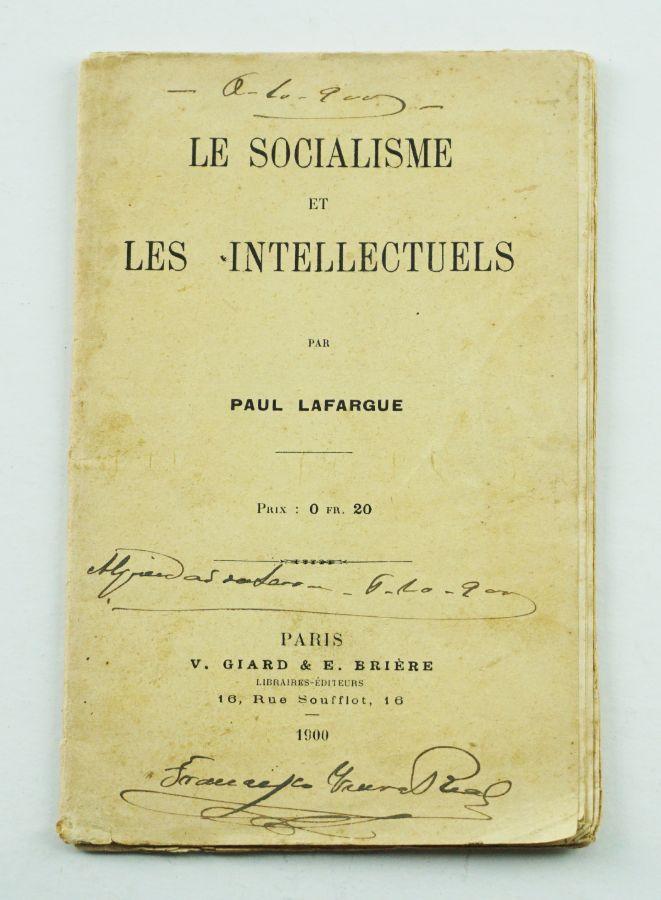 Paul Lafargue – primeira edição 1900