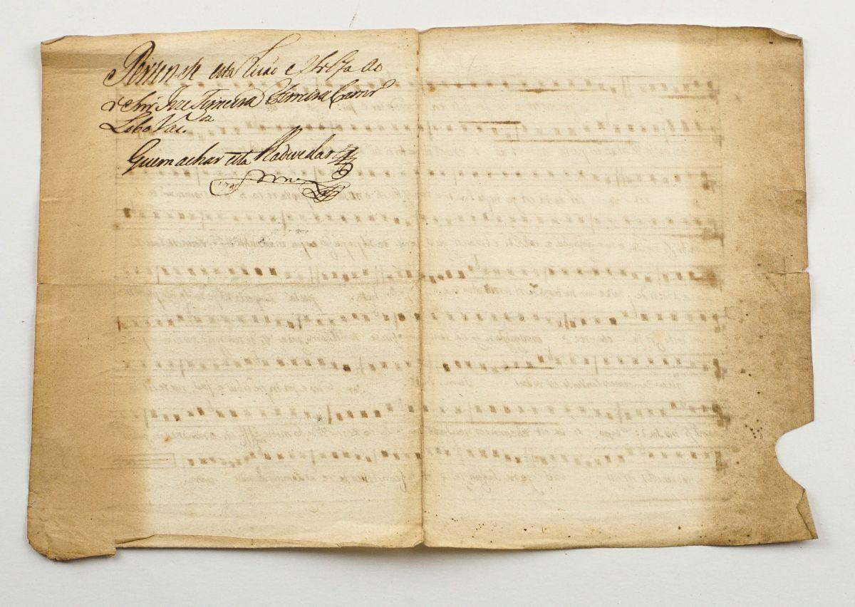 Folhetos de Teatro e Música séc. XVIII e XIX