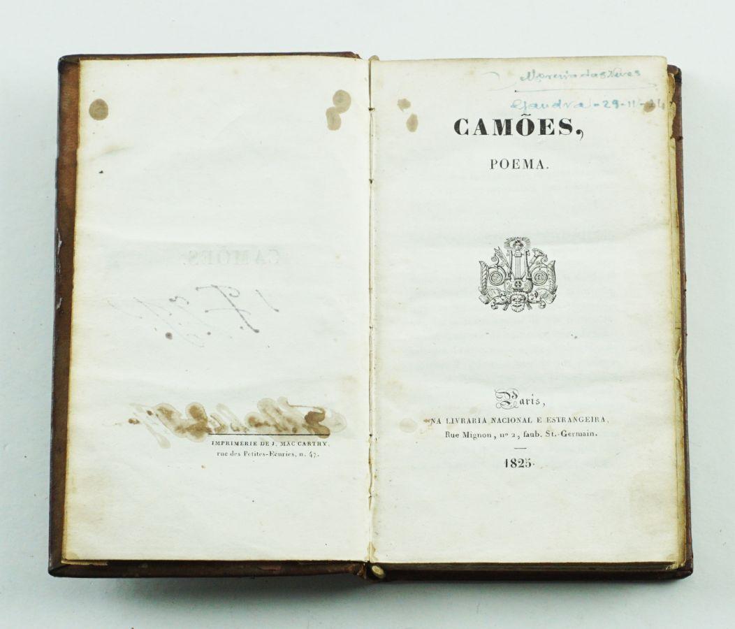 Almeida Garrett – Camões, 1ª edição