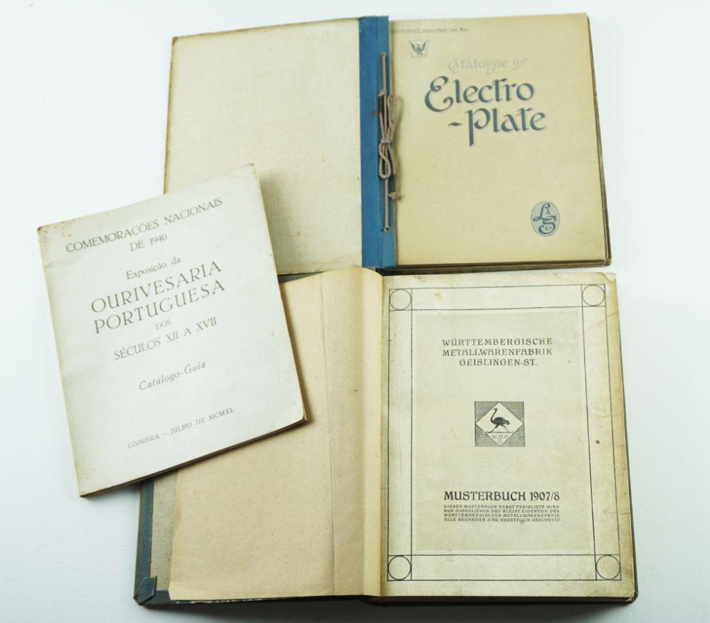 Livros de Cutelaria e Ourivesaria