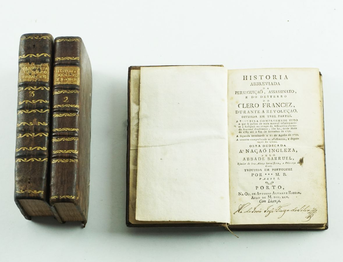 História abreviada (...) o do clero francês durante a revolução – 1795