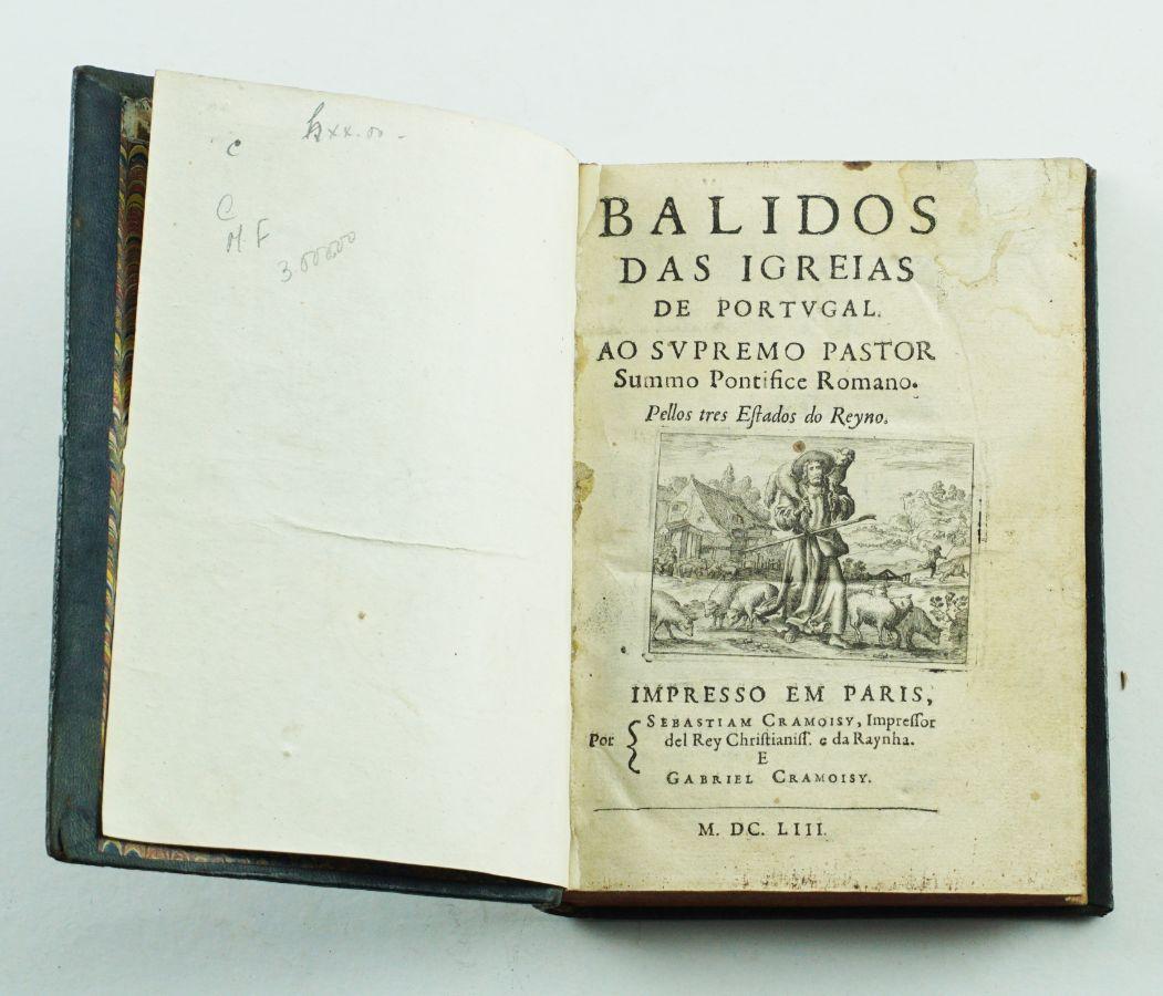 Balidos das Igrejas de Portugal – 1653
