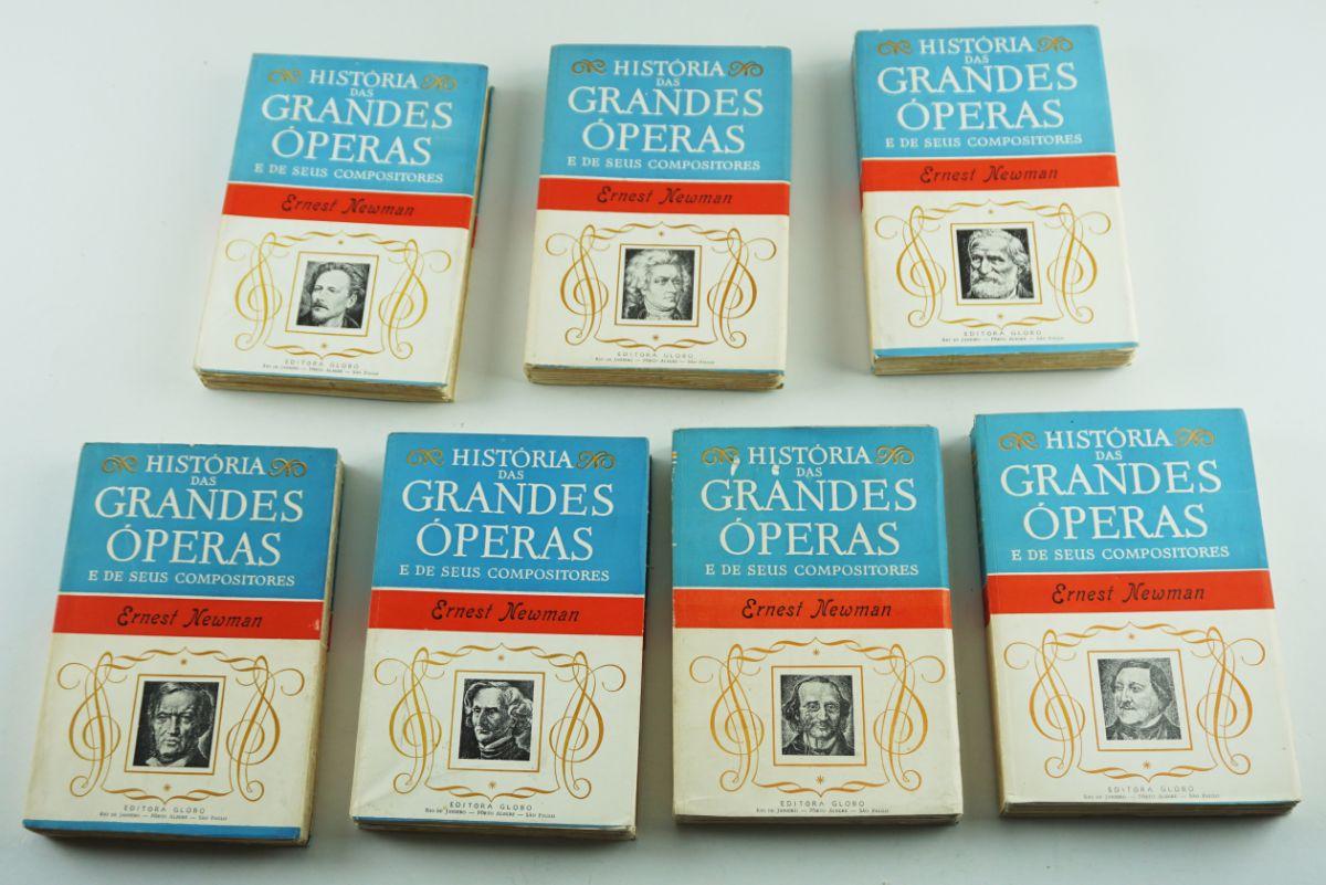 História das Grandes Óperas e de seus compositores
