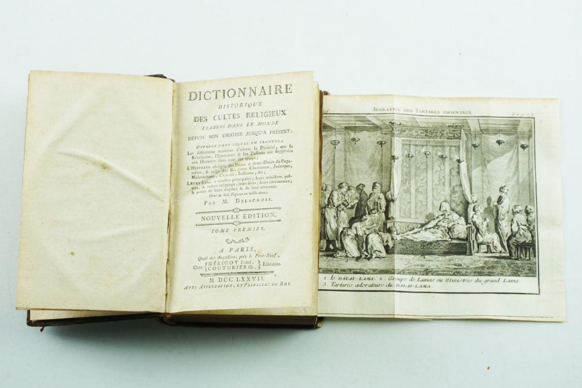 Dictionnaire historique des cultes religieux – 1777 (completo)