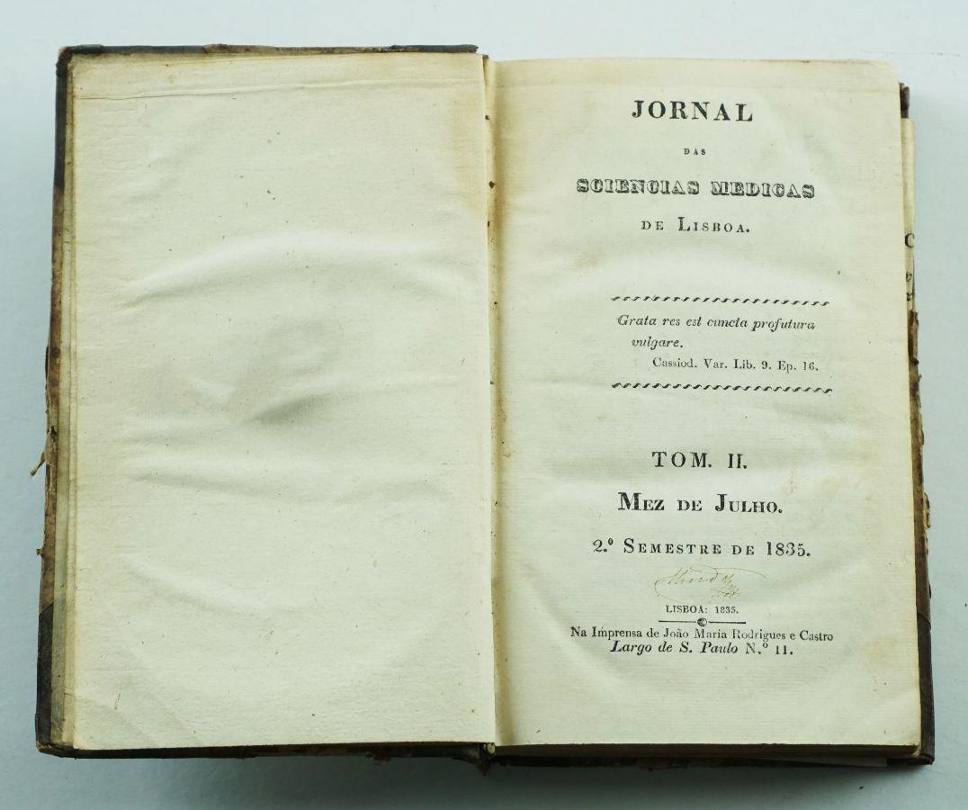 Jornal das Sciencias Medicas de Lisboa