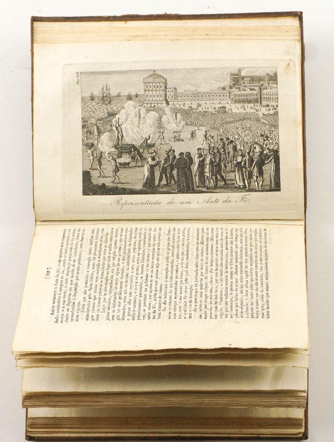 A primeira obra portuguesa sobre a Inquisição, publicada no ano da sua extinção (1821).