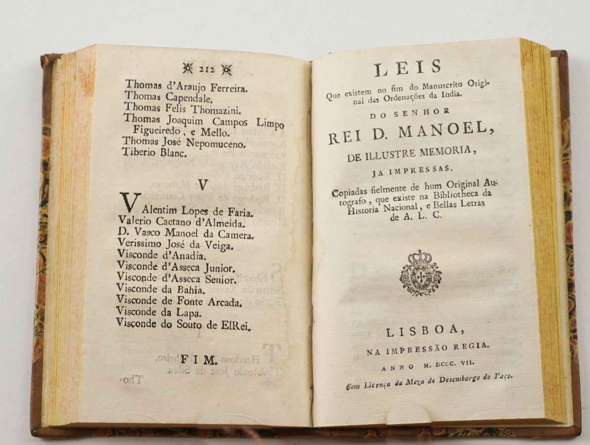Duas Obras sobre a Índia (1807)