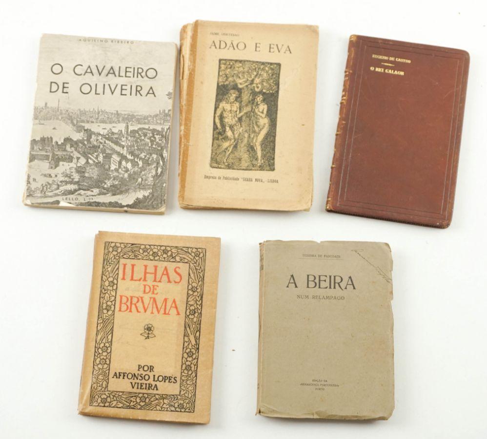 1ª edições de autores portugueses