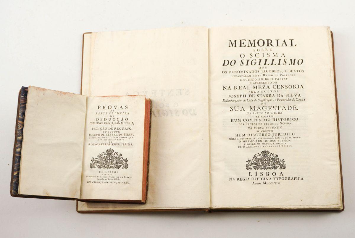 Obras de José de Seabra da Silva (1768 e 1769)