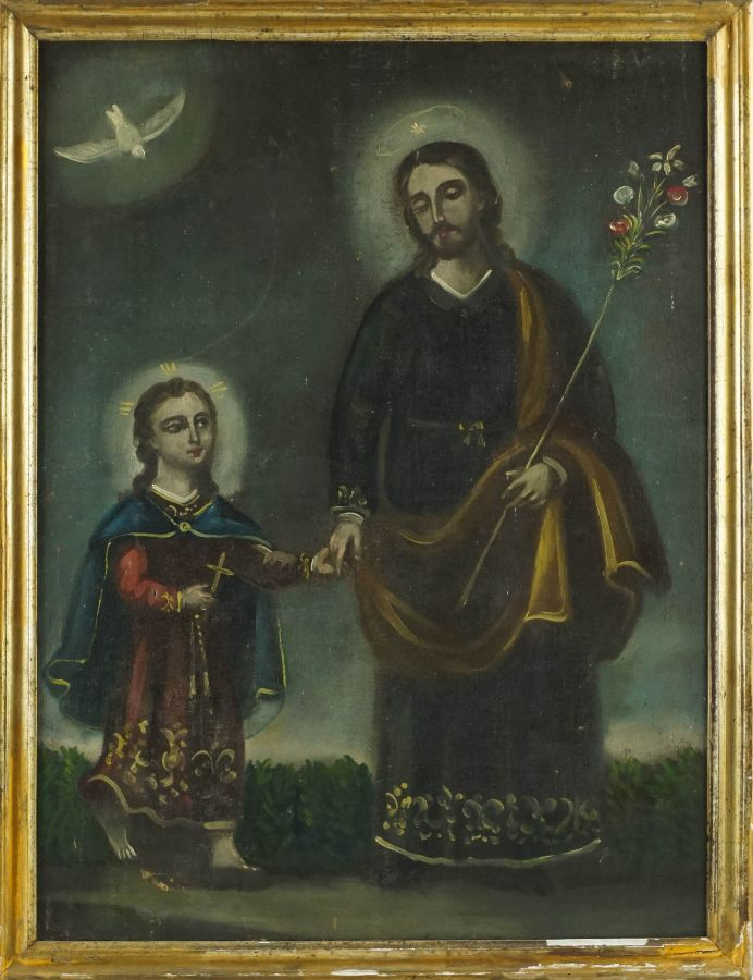 Cristo com S. José