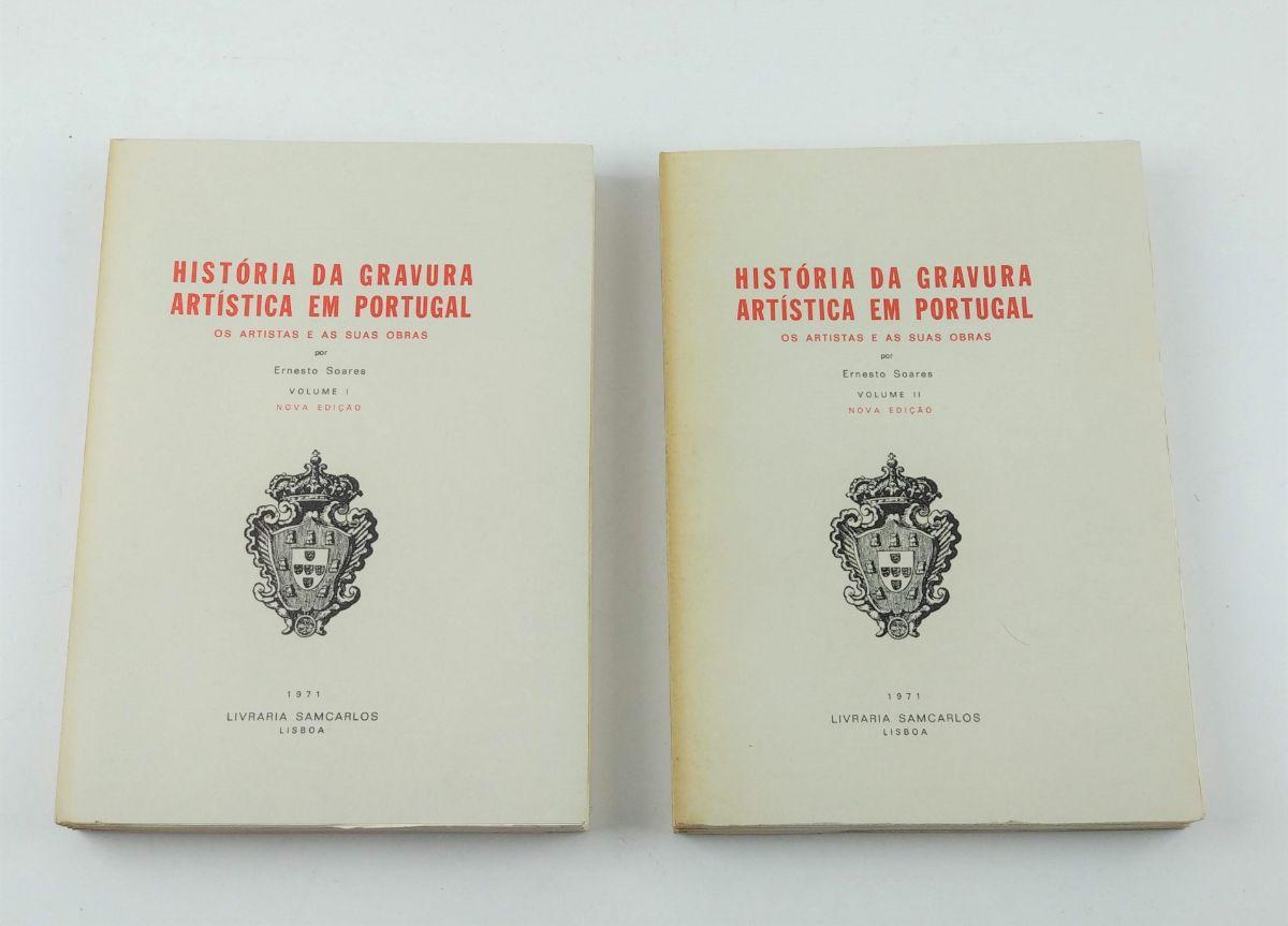 História da Gravura Artistica em Portugal