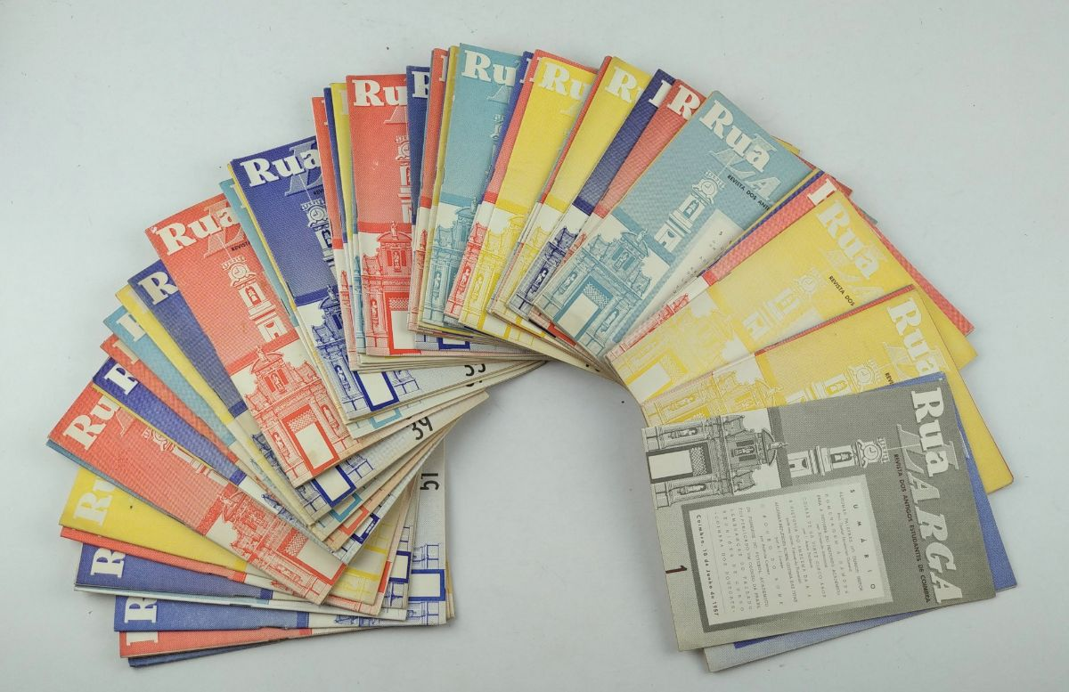 Rua Larga – revista dos antigos estudantes de Coimbra. Colecção completa
