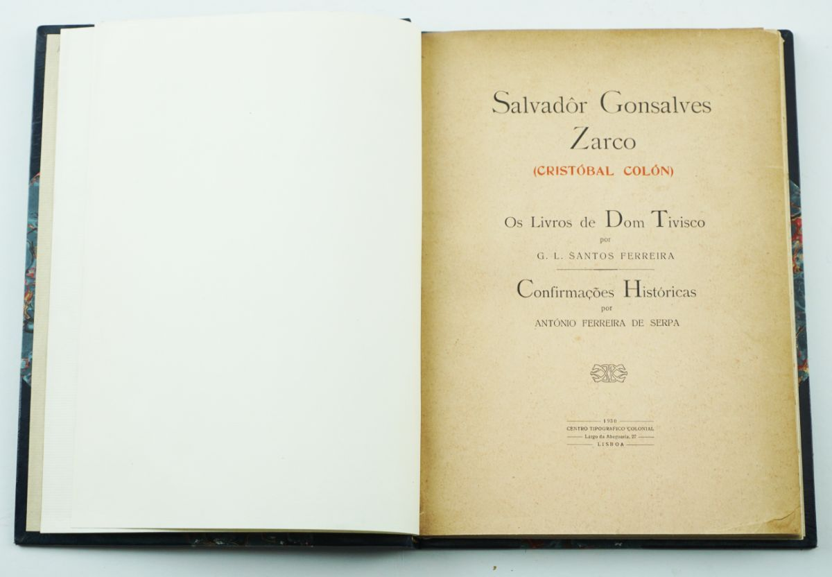 Salvador Gonçalves Zarco Os Livros de Dom Tivisco = Confirmações Históricas
