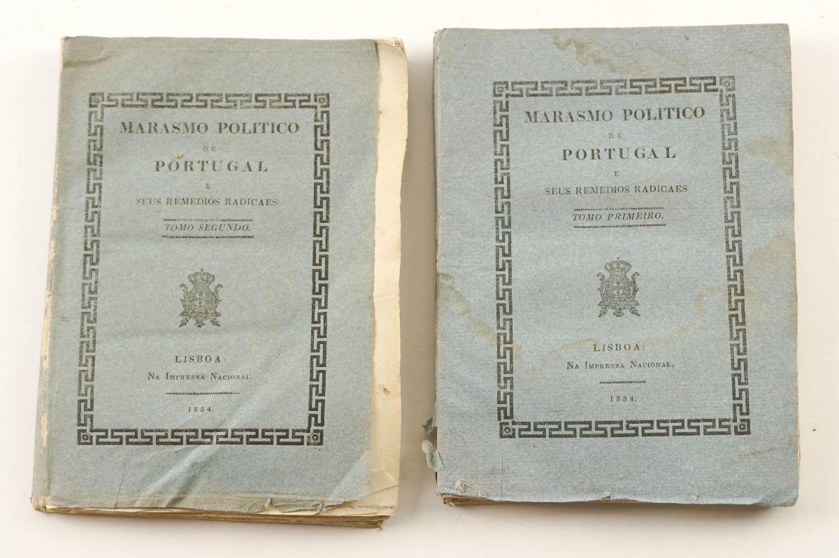 Marasmo Político de Portugal (1834)