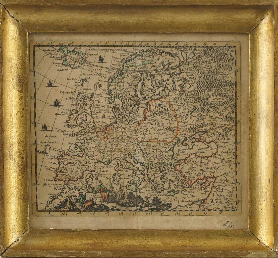 Mapa da Europa
