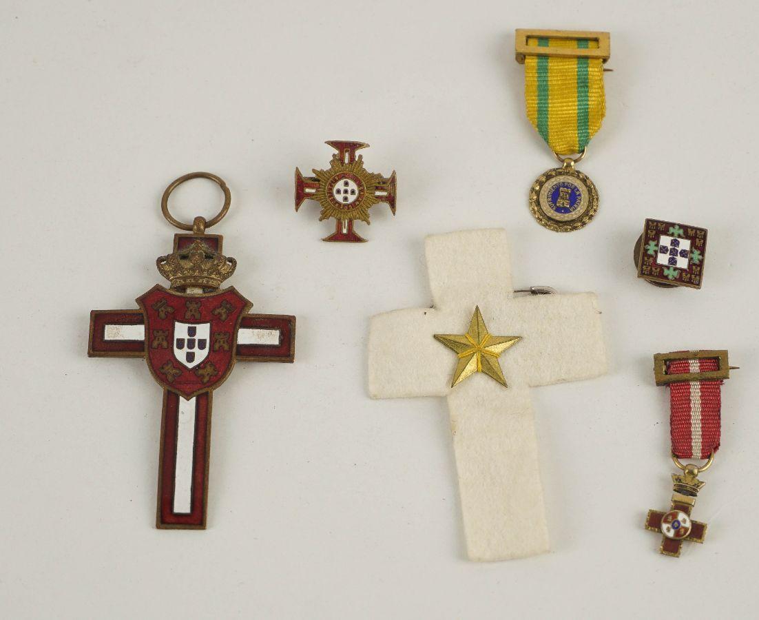 6 Condecorações diversas