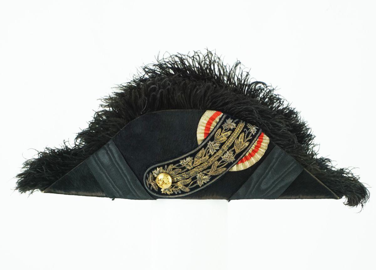 Chapéu bicórnio do Corpo Diplomático