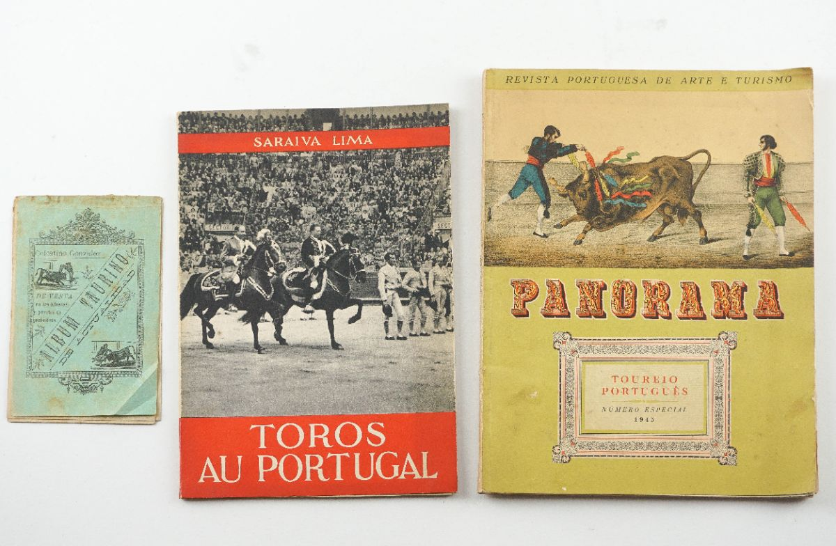 História da Tauromaquia e outras publicações sobre touros
