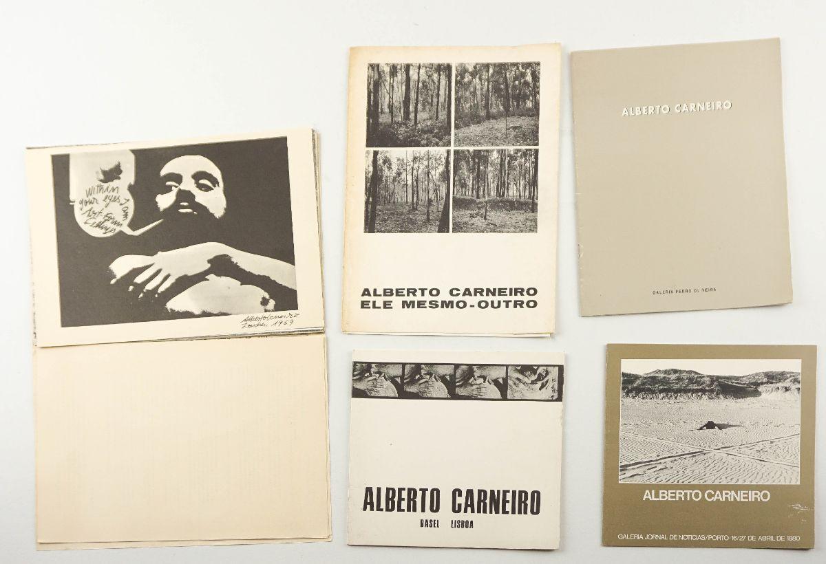 Alberto Carneiro – Publicações de Artista