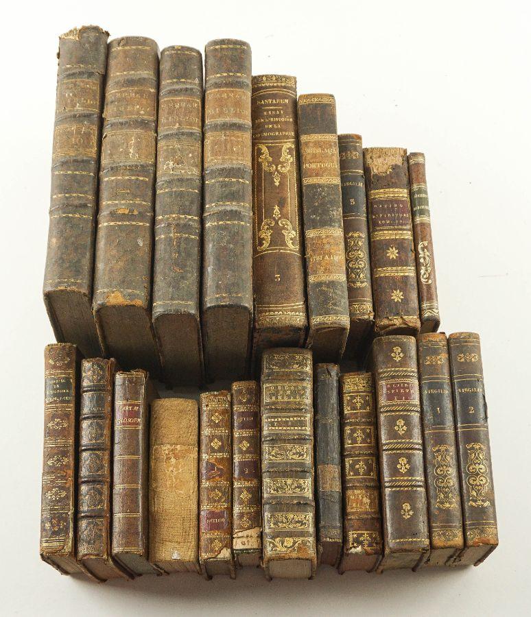 Conjunto de Livros do Séc. XVIII