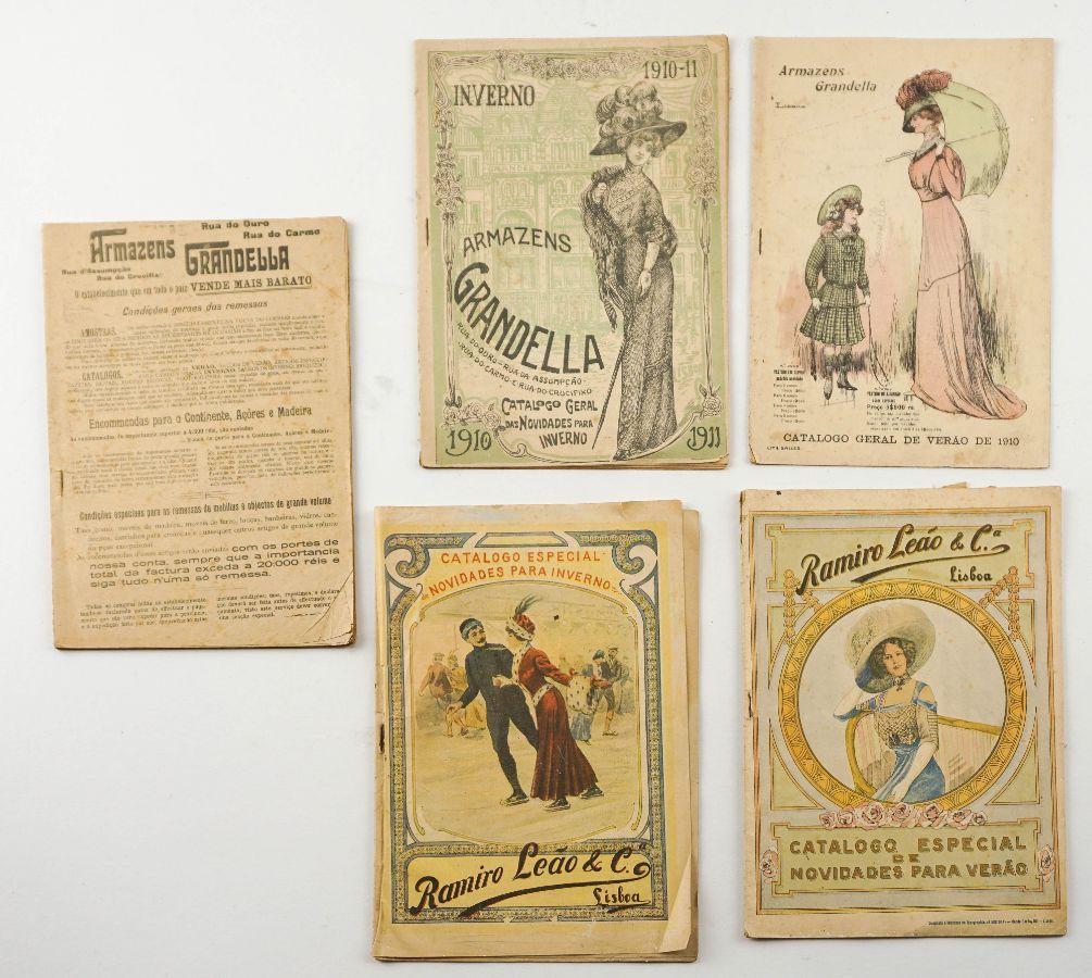 Colecção de Catálogos Armazéns Grandella e Ramiro Leão & Cª, Lisboa – 1910-1911
