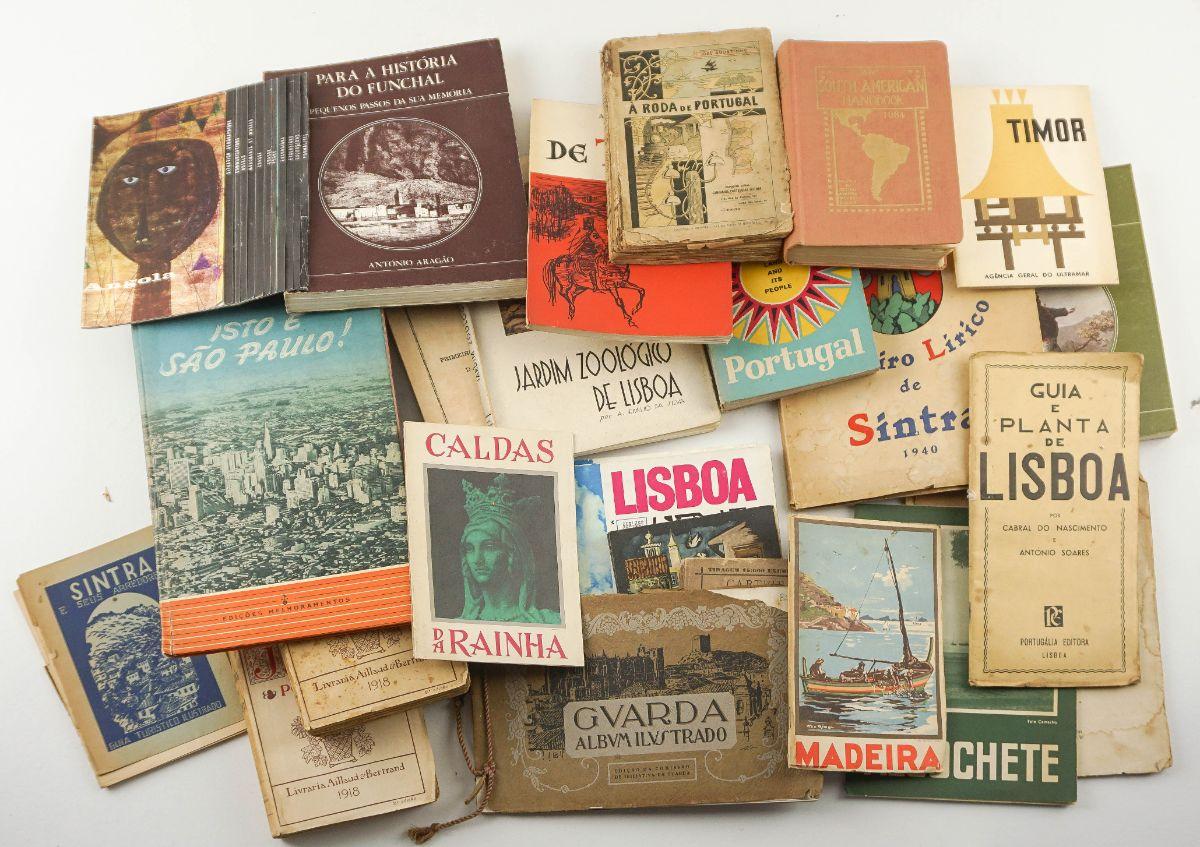 Livros de Viagens, guias e roteiros