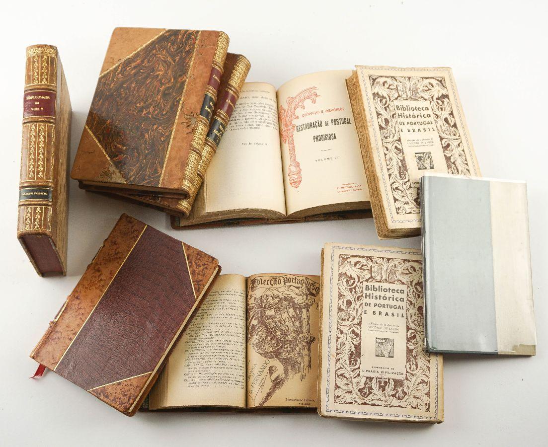 Livros sobre História de Portugal e Descobrimentos