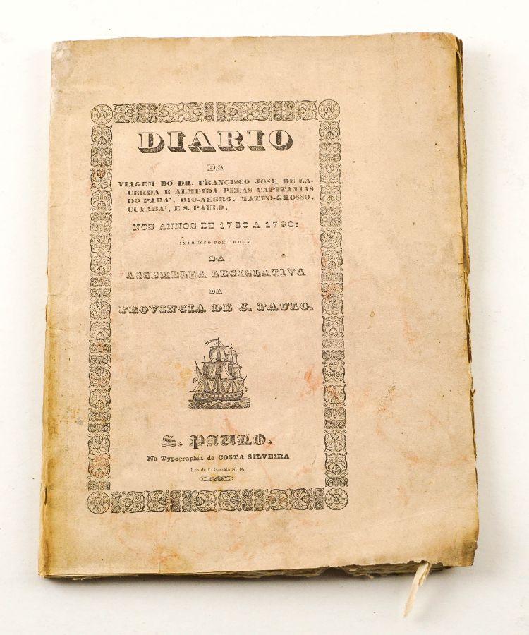 Rarissimo Livro de Viagens Brasileiro impresso em São Paulo