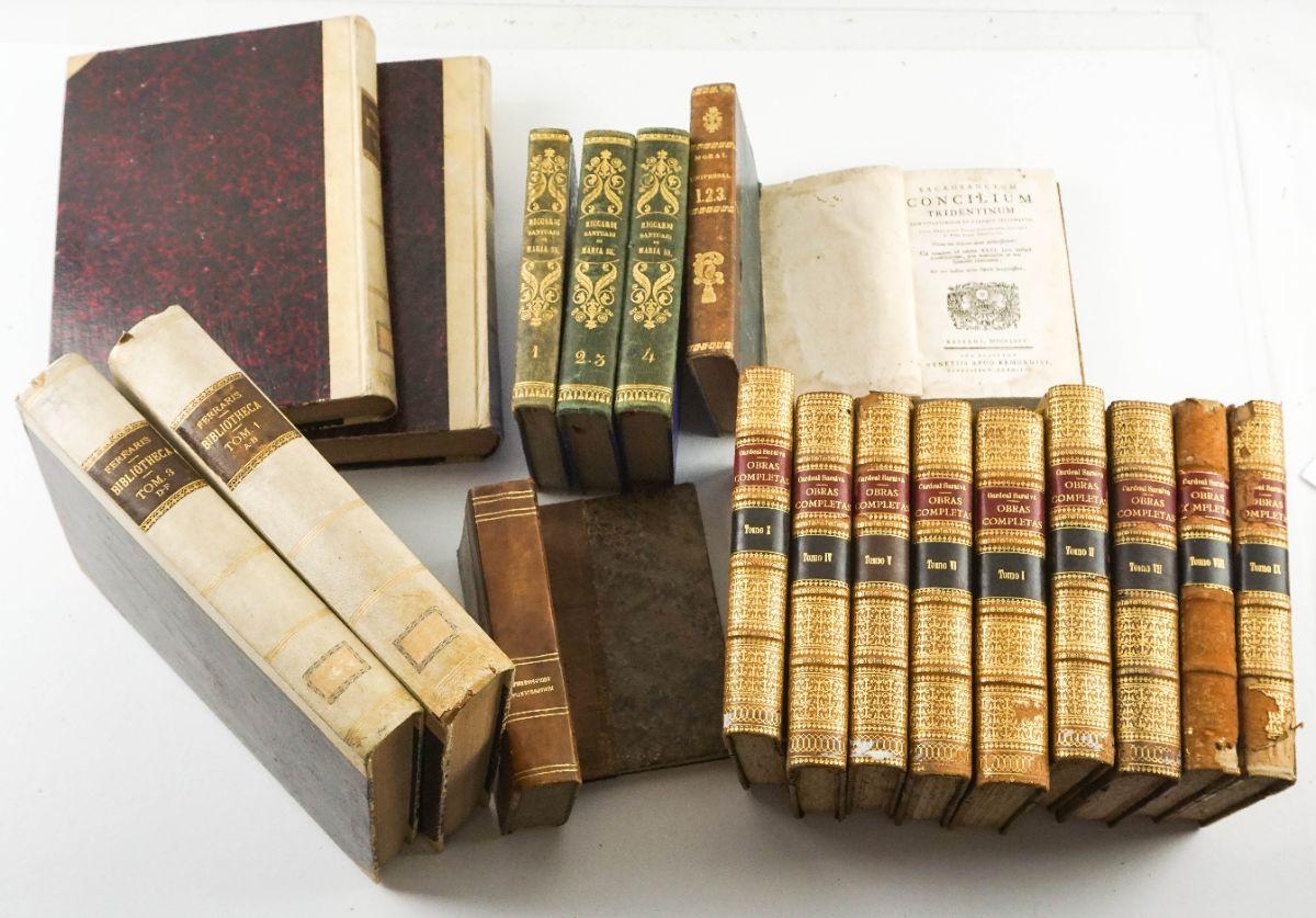 Livros Religiosos sec XVII, XVIII e XIX
