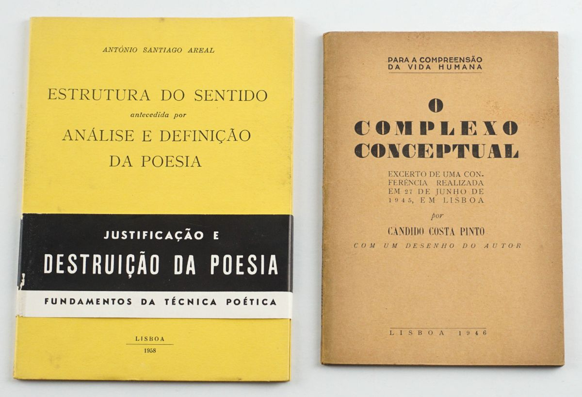 António Areal e Cândido Costa Pinto