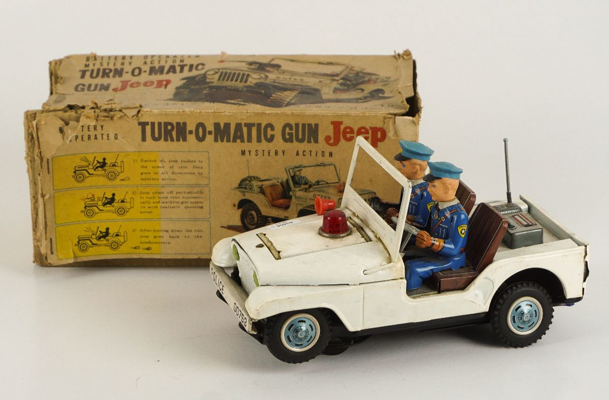 Turn-O-Matic Gun Jeep