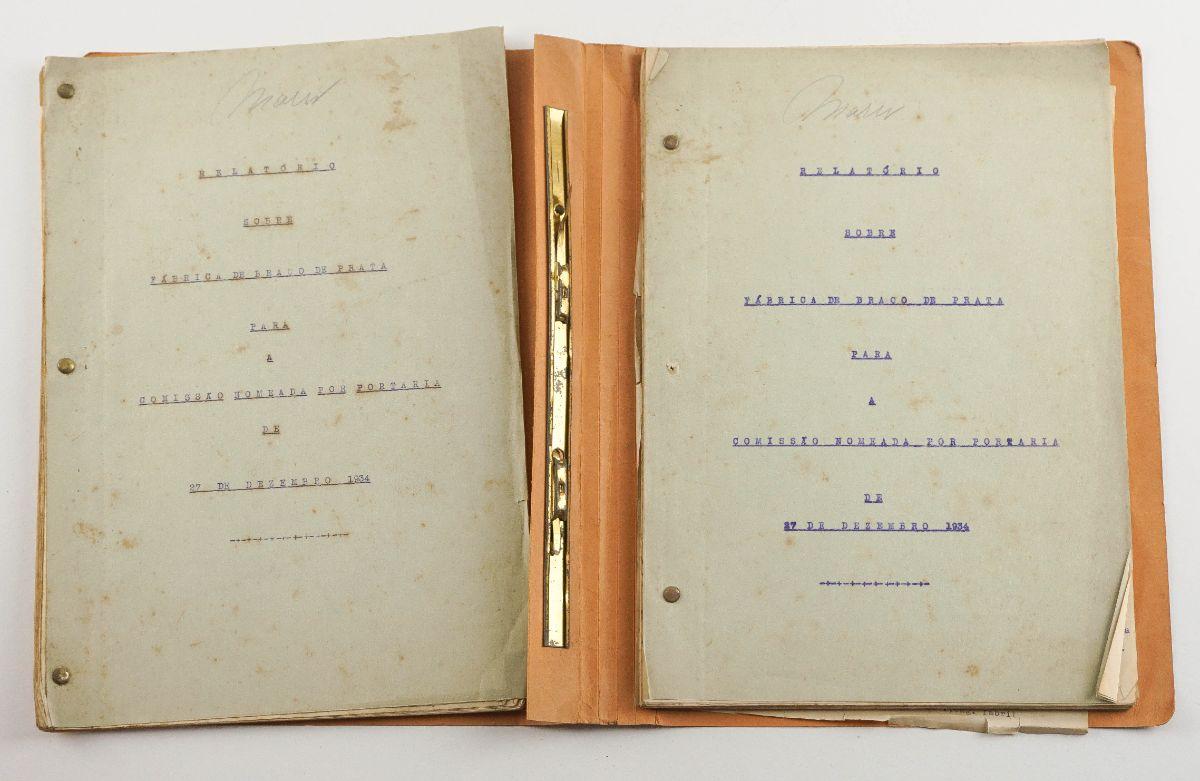 Fábrica Militar de Braço de Prata Fabrica de Braço de Prata – Manuscritos (anos 20 /30)