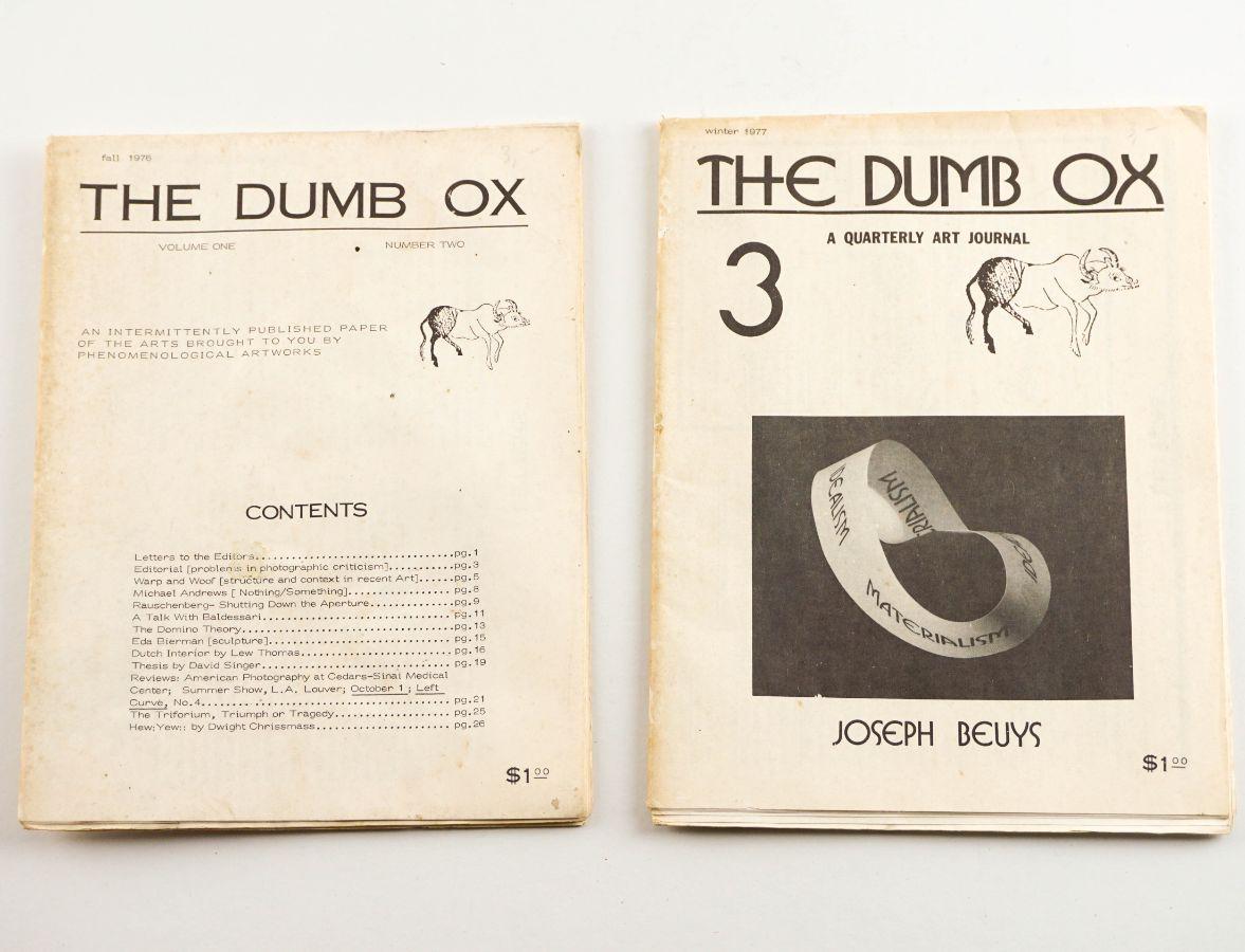 The Dum Ox – Publicação anos 70