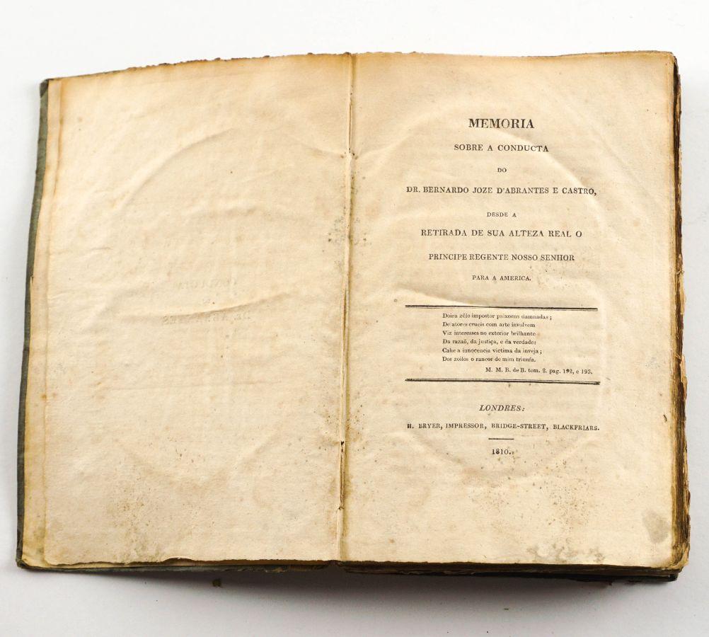 Defesa de um maçon português em 1810