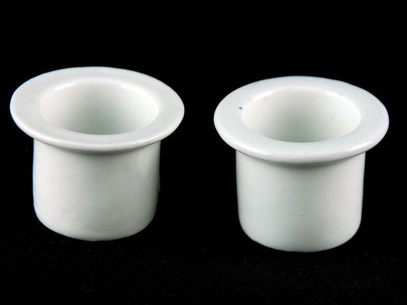 2 Tinteiros em Porcelana