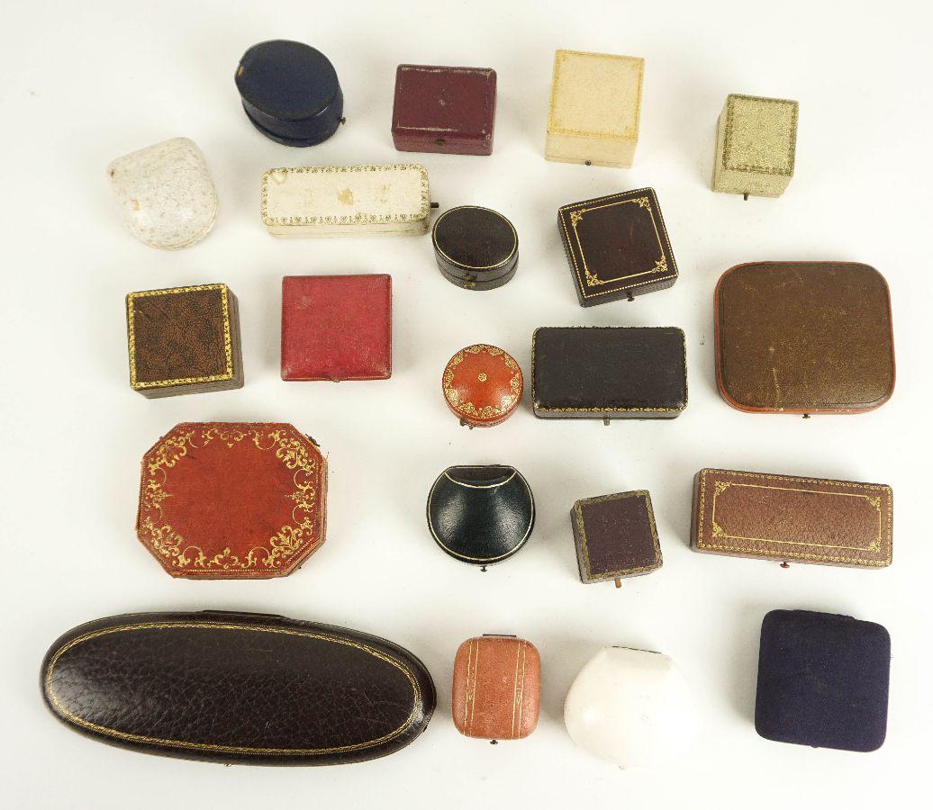 22 Caixas de jóias antigas
