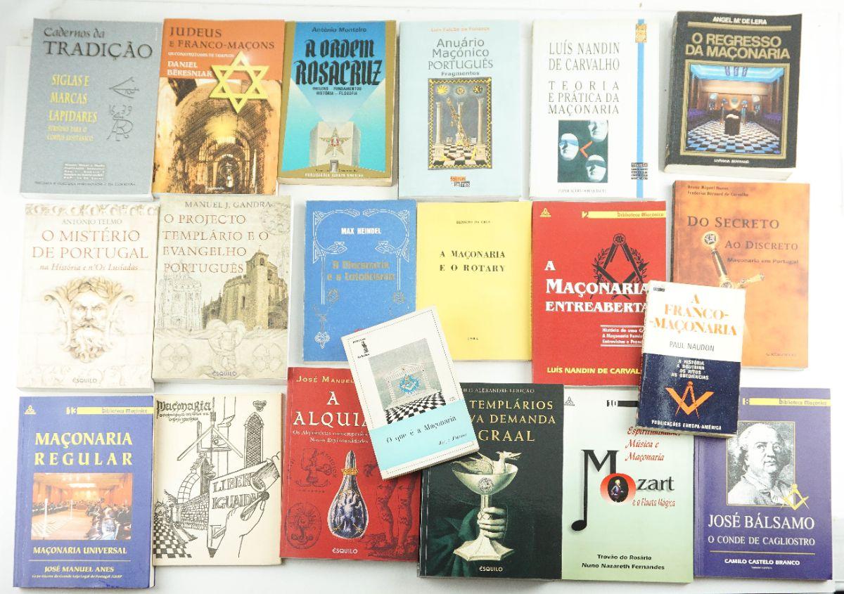 Obras Portuguesas sobre Maçonaria